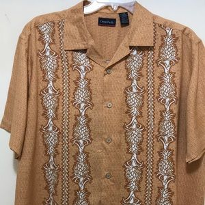 Vintage Ocean Pacific Men's Shirt Size L
